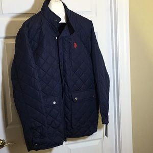 US POLO ASSN 2XLT quilted coat